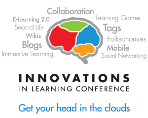 2008 Brandon Hall Research Innovations in Learning Conference Logo