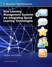 How Learning Management Systems are Integrating Social Learning Technologies: Review and Outlook