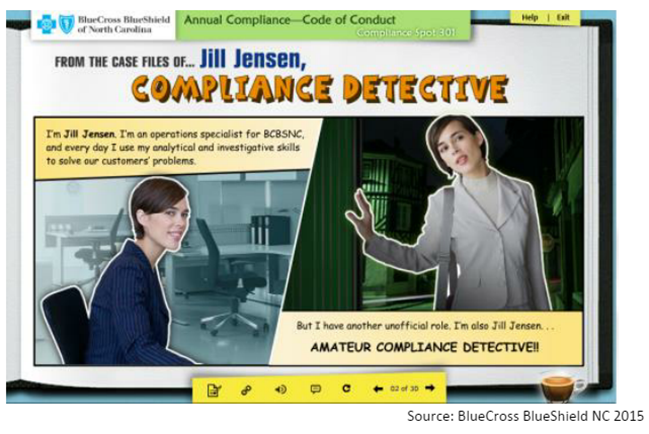 video compliance training