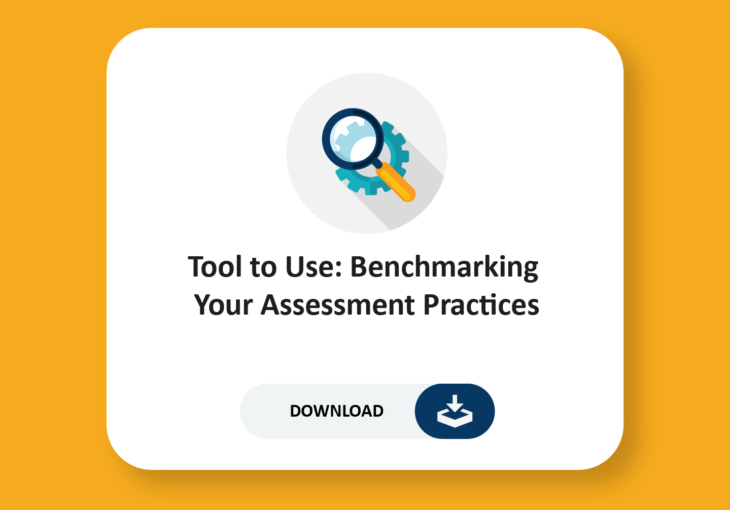 Benchmarking your assessment practice